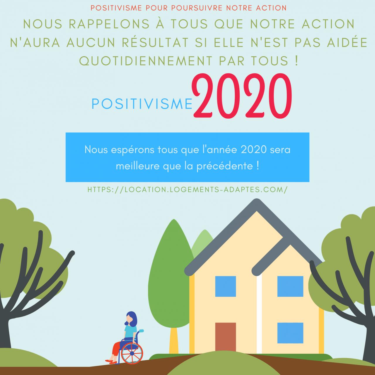 Logements adaptés disponibles – 2020