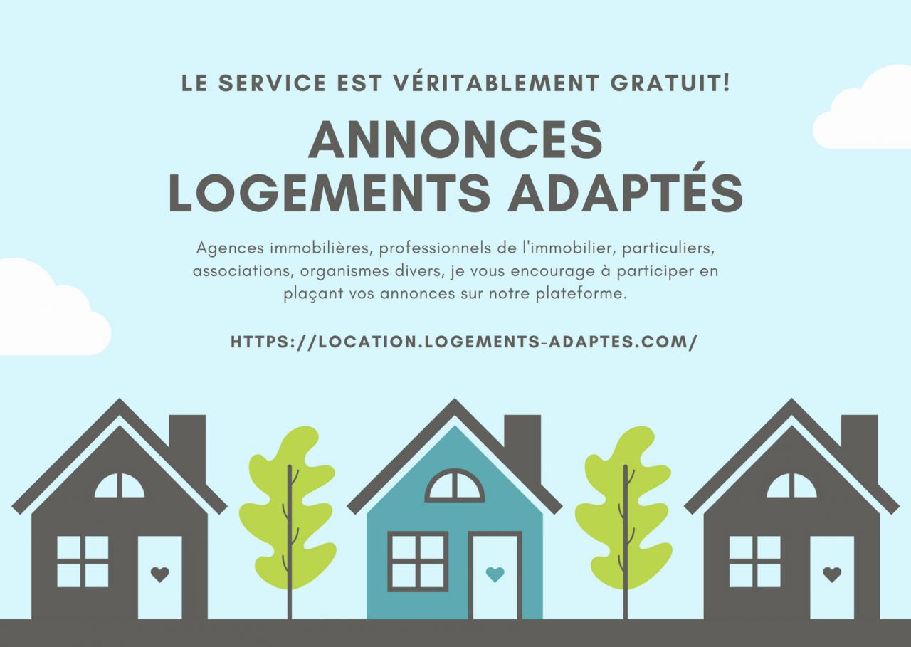 Annonces location logements adaptés
