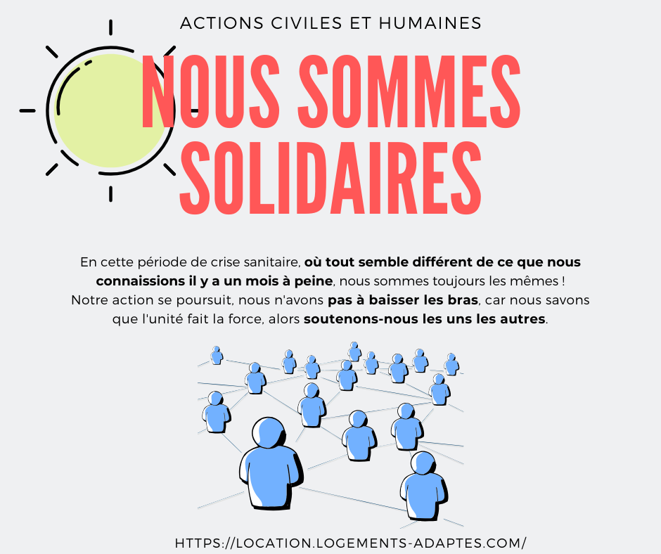 Actions solidaires, sociales et humaines
